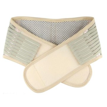 Tourmaline Spontaneous Self Heating Magnetic Therapy Waist Support Belt